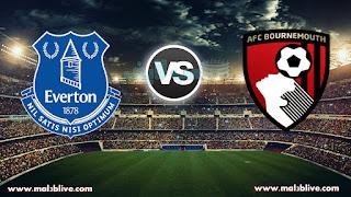 مشاهدة مباراة بورنموث وإيفرتون Bournemouth FC vs Everton FC بث مباشر بتاريخ 30-12-2017 الدوري الانجليزي