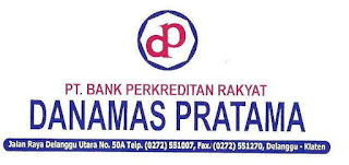 Loker Klaten Kasir di BPR Danamas Pratama Desember 2020