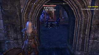 Elder Scrolls Online Third Person Targeting Disk Problem Door