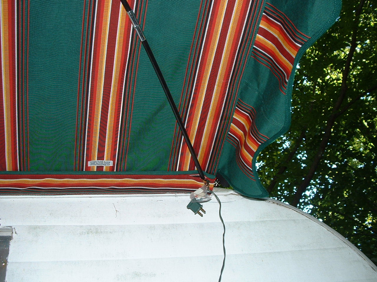 Vintage Awnings New Optional Features On Vintage Trailer