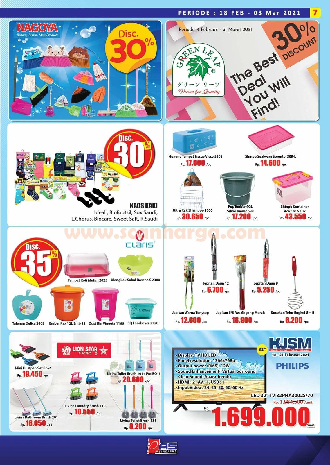Katalog Promo Hari Hari Pasar Swalayan 18 Februari - 3 Maret 2021 7