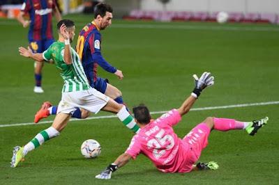 ملخص واهداف مباراة برشلونة وريال بيتيس (5-2) في الدوري الاسباني