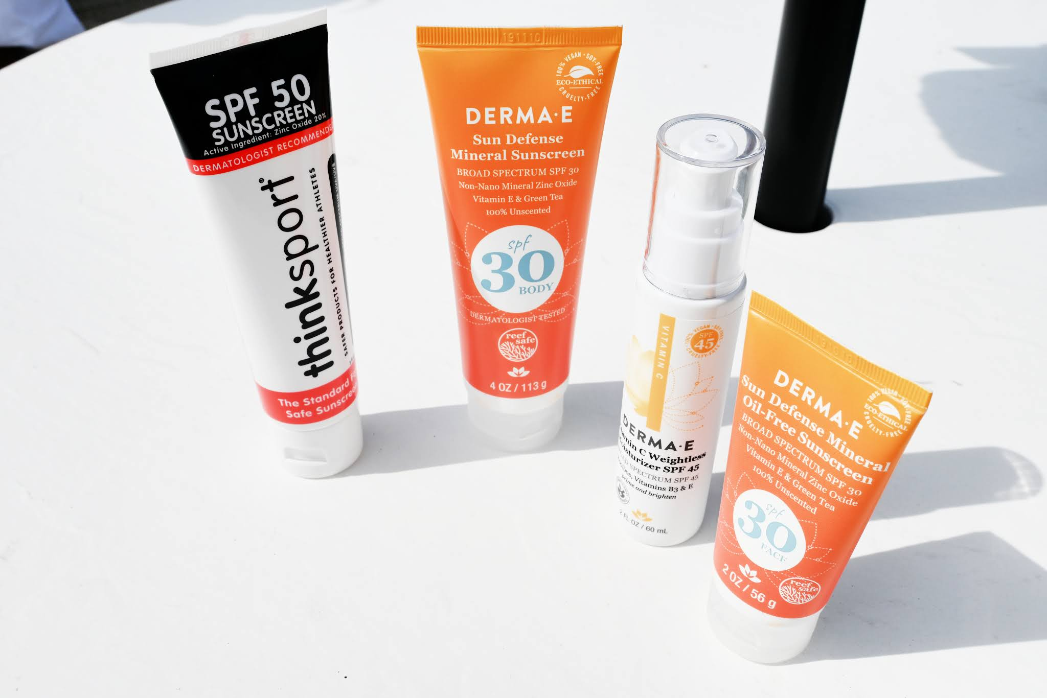 Must-Have Non-Toxic, Eco-Ethical, Vegan Sunscreen from DERMA-E and Thinksport