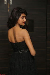 Shalu Chourasiya in spicy Sleeveless Strapless Black Top at O Pilla Nee Valla Movie Audio Launch Feb 2017 051.JPG