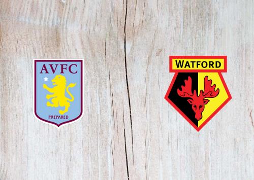 Aston Villa vs Watford -Highlights 21 January 2020