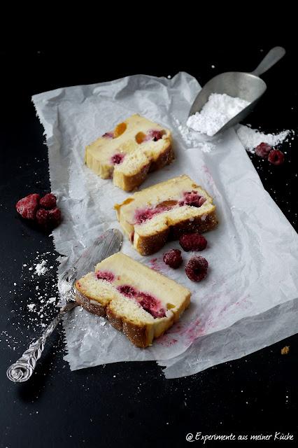 Experimente aus meiner Küche: Pfirisch Melba Zauberkuchen #magiccake #zauberkuchen
