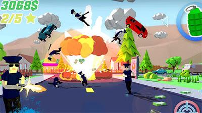لعبة العالم المفتوح الرائعة Dude Theft Wars مهكرة للأندرويد - تحميل مباشر