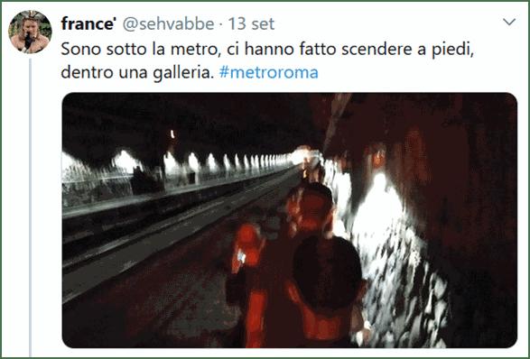 Come ATAC vi evacua dalla Metro