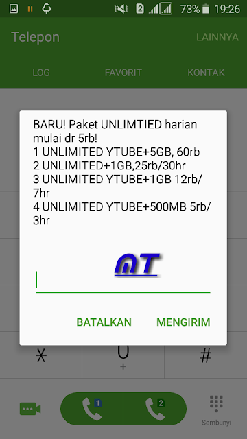Paket Unliimited Youtube + Apps Indosat Ooredo.