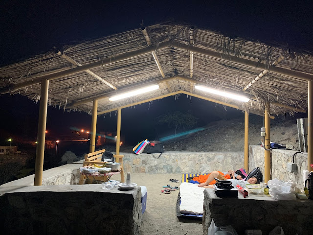 Camping Area in Hatta