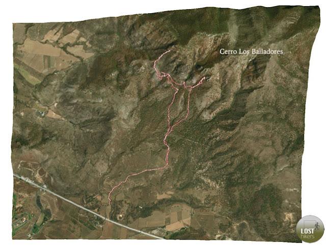 El Alacrán en el Cerro los Bailadores, Zapopan, Jalisco
