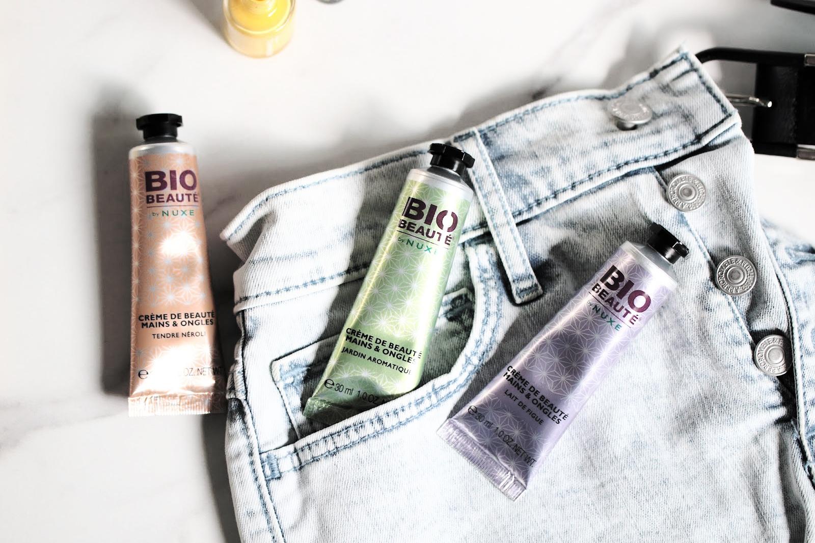 bio beauté by nuxe crème mains & ongles avis test