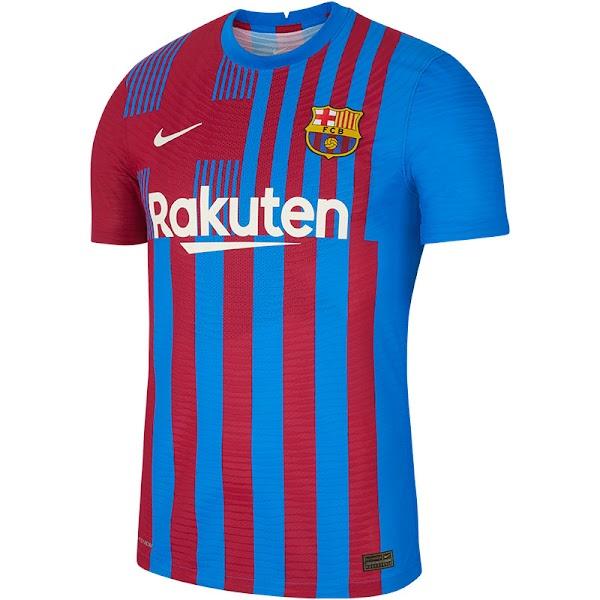 El FC Barcelona presenta la primera camiseta Nike 2021/2022