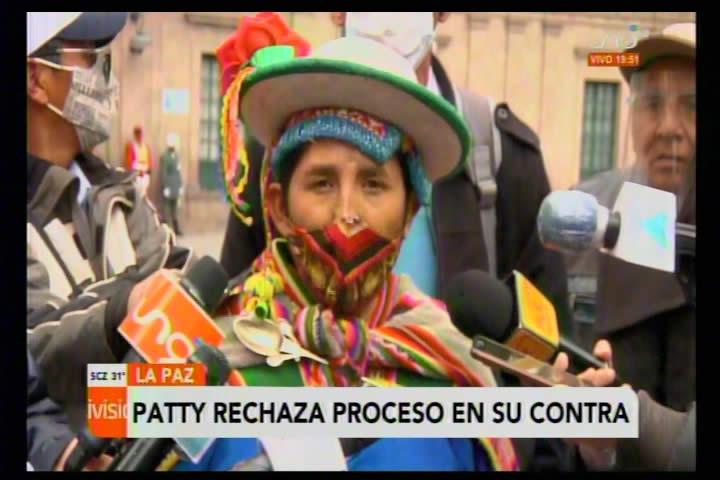 Lidia Patty fustiga proceso en su contra y dice que 'no tiene pies ni cabeza'