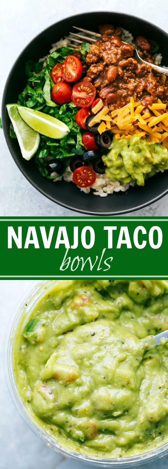 Navajo Tacos Rice Bowls