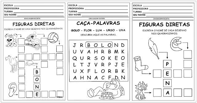 Confira atividades de alfabetização prontas para imprimir para trabalhar com alunos das séries iniciais.