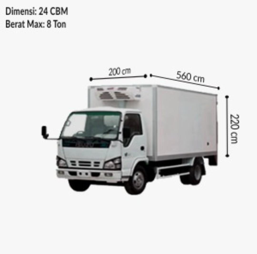 Ukuran Kapasitas Truk Colt Diesel