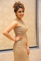 Muskan Sethi in a Gorgeous Sleeveless Glittering Gown at Paisa Vasool audio success meet ~  Exclusive Celebrities Galleries 026.JPG