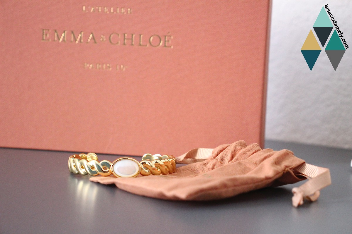 revue beauté test box bijoux juillet emma et chloé