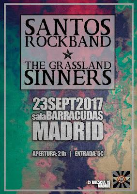 THE GRASSLAND SINNERS en BARRACUDAS MADRID