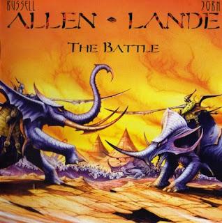 """Ο δίσκος των Allen / Lande """"The Battle"""""""
