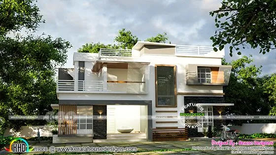4 bedroom contemporary house plan