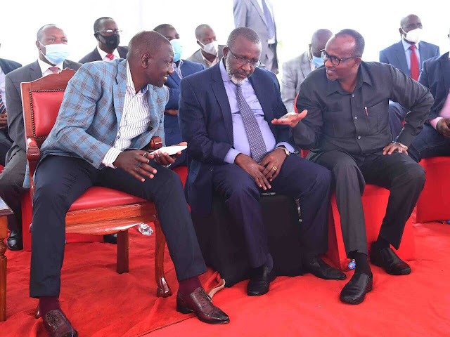 DP William Ruto at Karen with Tangatanga MPs
