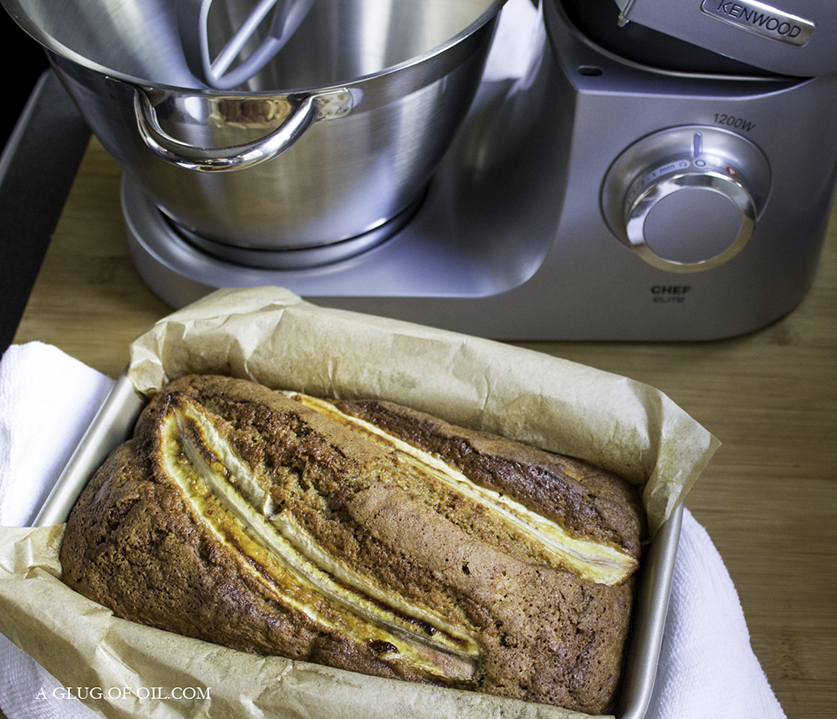 Banana Bread and the Kenwood Chef Elite