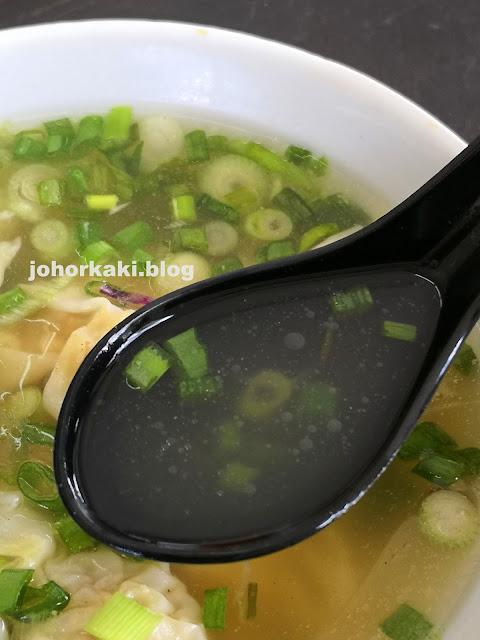JB Flying Wanton Mee in Johor Jaya is Tops in Taste & Mouthfeel