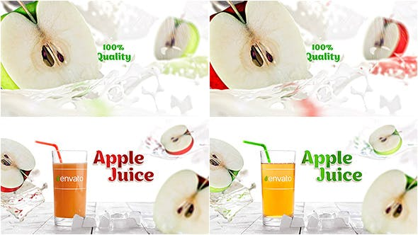 Apple Juice Opener[Videohive][After Effects][19524579]