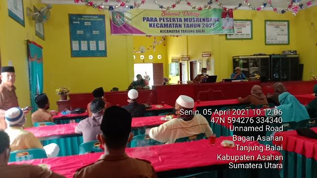 Musyawarah Terkait Bulan Suci Ramadhan, Personel Jajaran Kodim 0208/Asahan Turut Hadiri