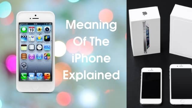iPhone Meaning
