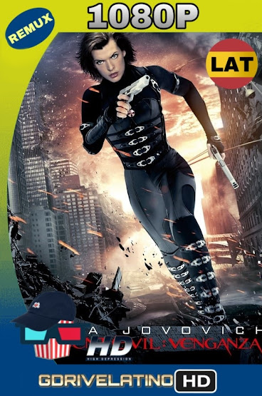 Resident Evil 5: La Venganza (2012) REMUX 1080p Latino-Ingles MKV