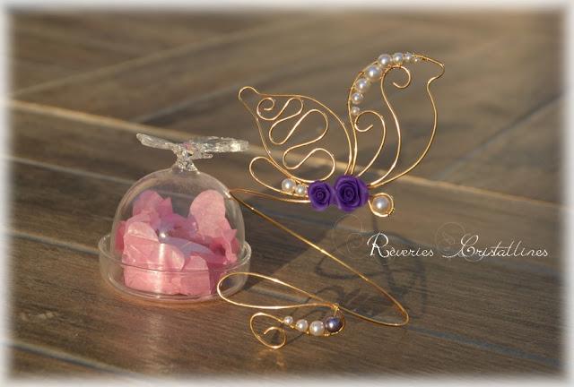 bijou boheme romantique en fil de cuivre