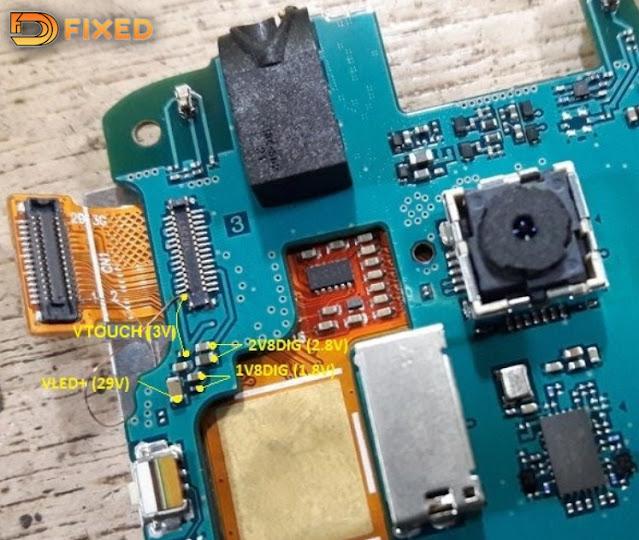 Cara Memperbaiki Samsung J1 mini SM-J105F Blank LCD