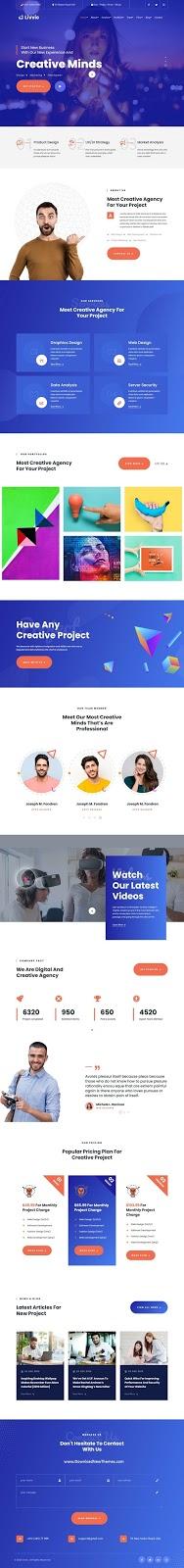 Studio & Portfolio Website Template