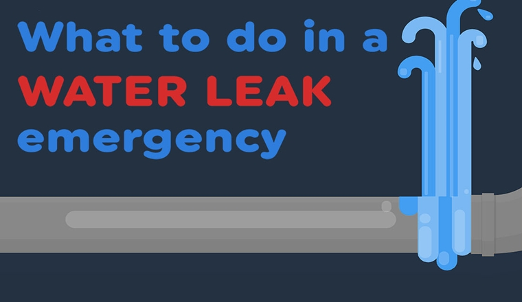 What To Do In A Water Leak Emergency?