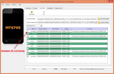 Flash Redmi Note 3 Mediatek (hennessy) ROM Global Fix 4G