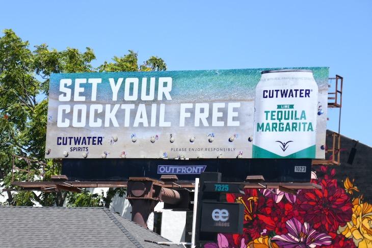 Cutwater Spirits Tequila Margarita billboard