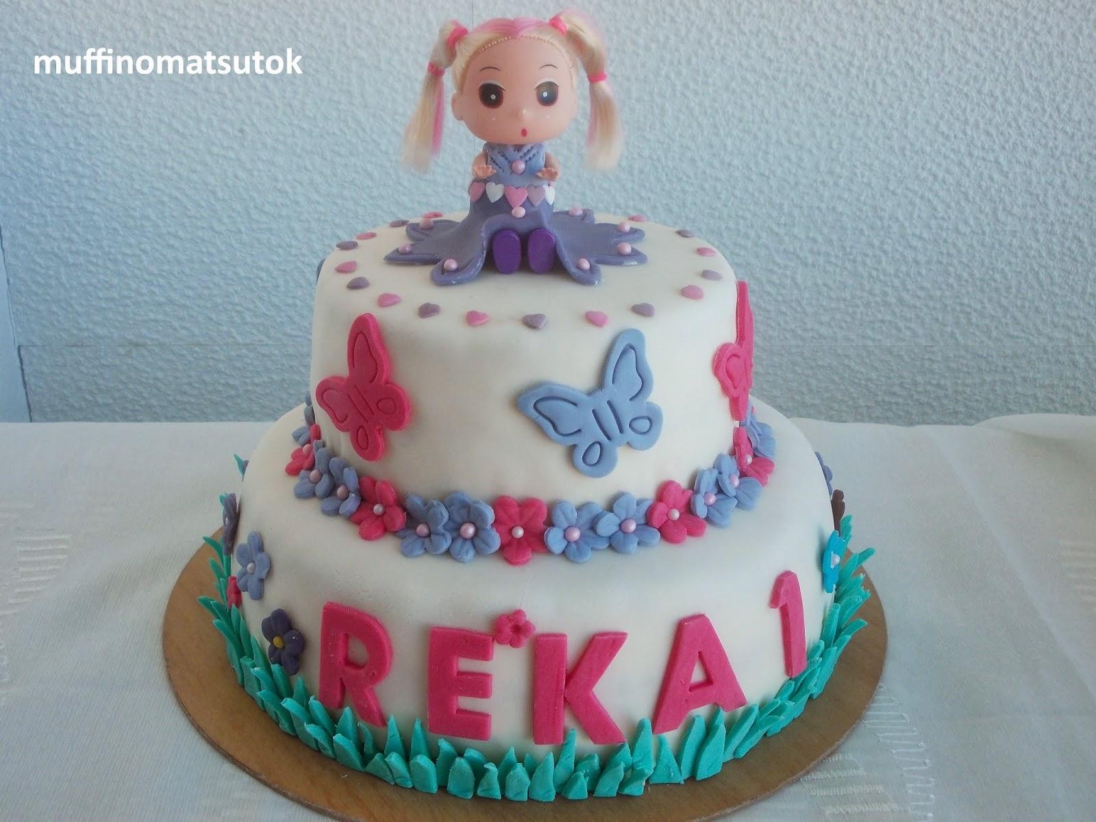 1 éves szülinapi torta Szülinapi torta Réka 1 éves. Anyukájával a tavasz 1 éves szülinapi torta