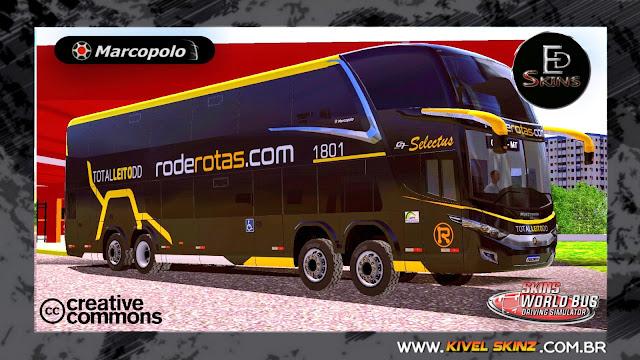 PARADISO G7 1800 DD 8X2 - VIAÇÃO RODEROTAS BLACK