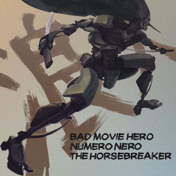Numero Nero, The Horsebreaker and Bad Movie Hero stream new split