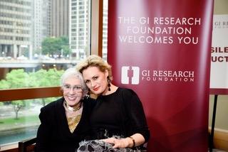 Award recipient Bee Crain with Jennifer Sutton-Brieva. Image credit GIRF.