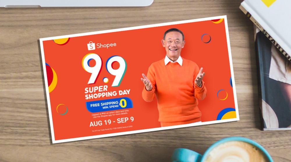 Shopee Philippines, Shopee Jose Mari Chan, Shopee 99 Super Shopping Day