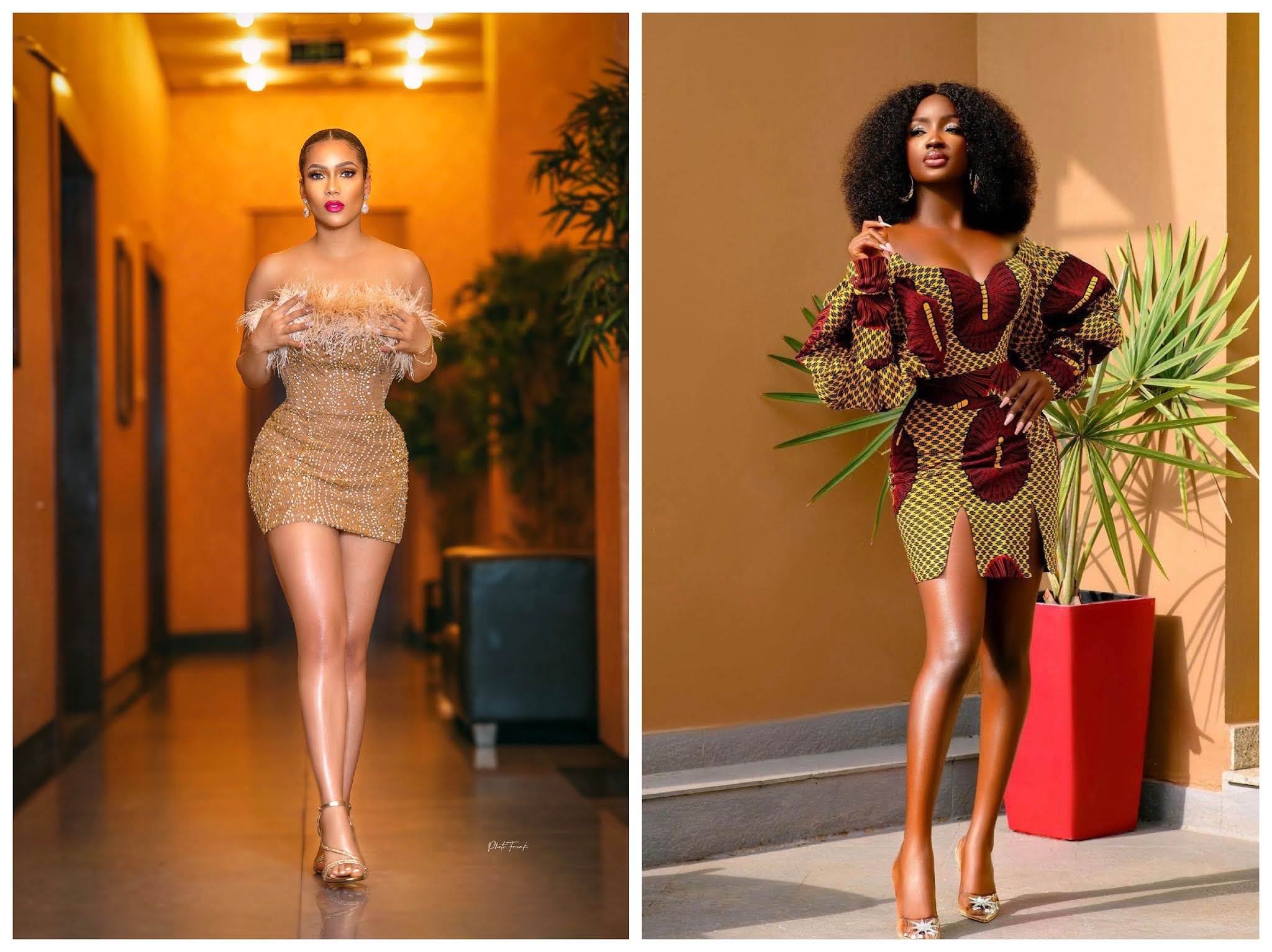 BBNaija: Maria and Saskay are not letting evicted housemates shine at all, check out their latest pictures