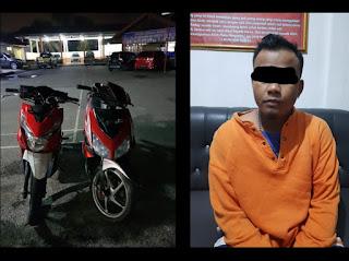 Pelaku Curanmor di Pasaraya Solok Ditangkap