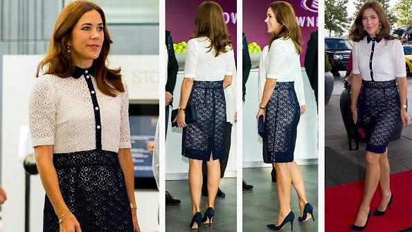 Stylish and fashion Denmark's Crown Princess Mary - 2014
