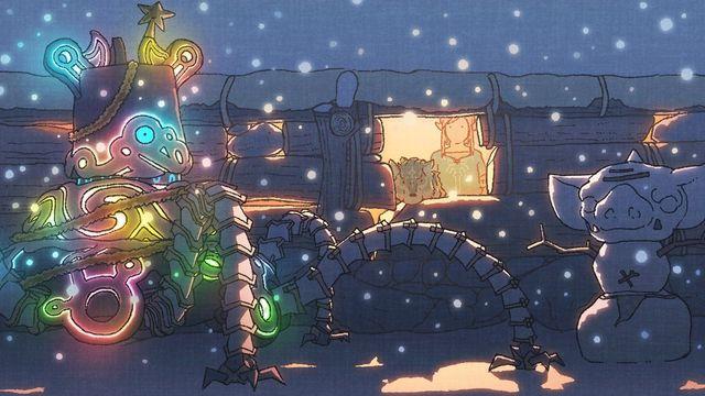 The Legend Of Zelda nos felicita las navidades también