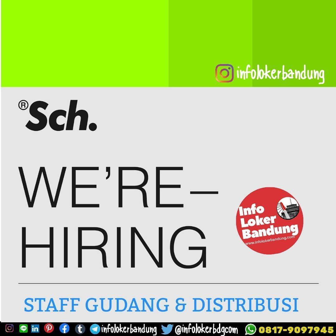 Lowongan Kerja Staf Gudang & Distribusi SCH Clothing Bandung Februari 2020