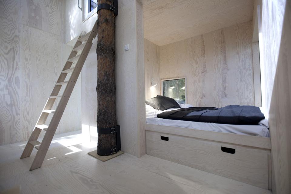 Отель Treehotel в Швеции